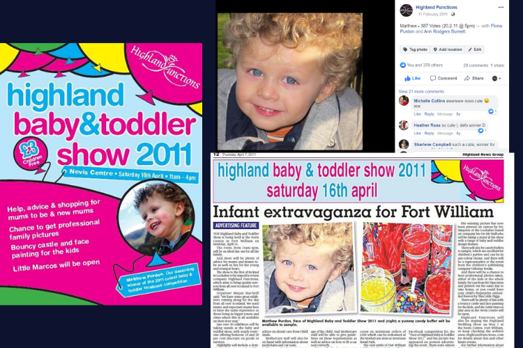 highland baby and toddler show 2011