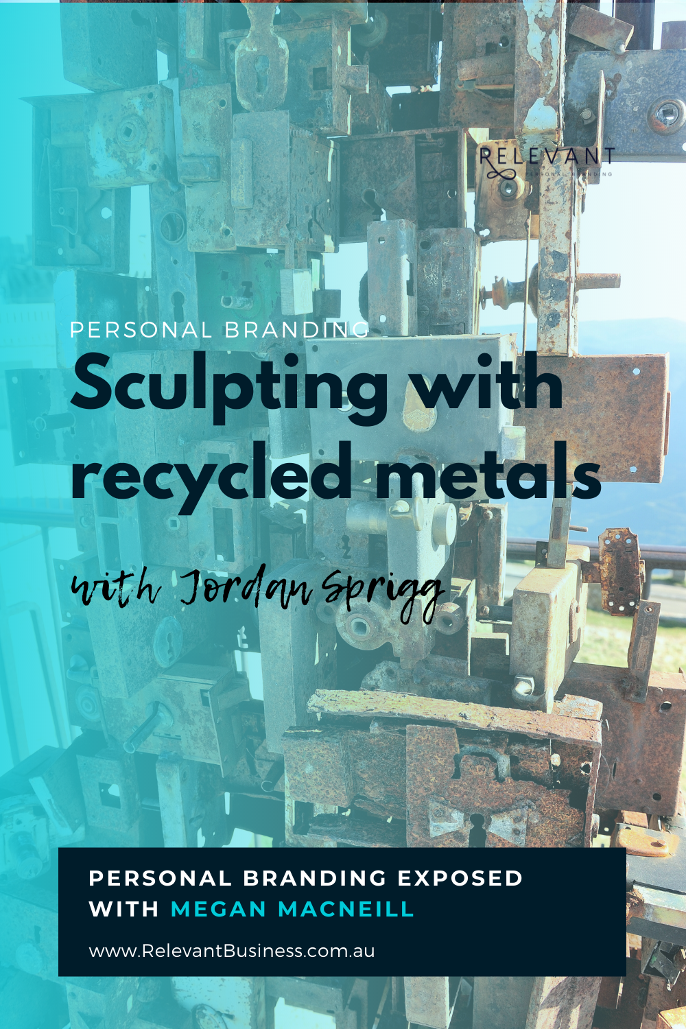 Sculpting with recycled metals with Jordan Sprigg