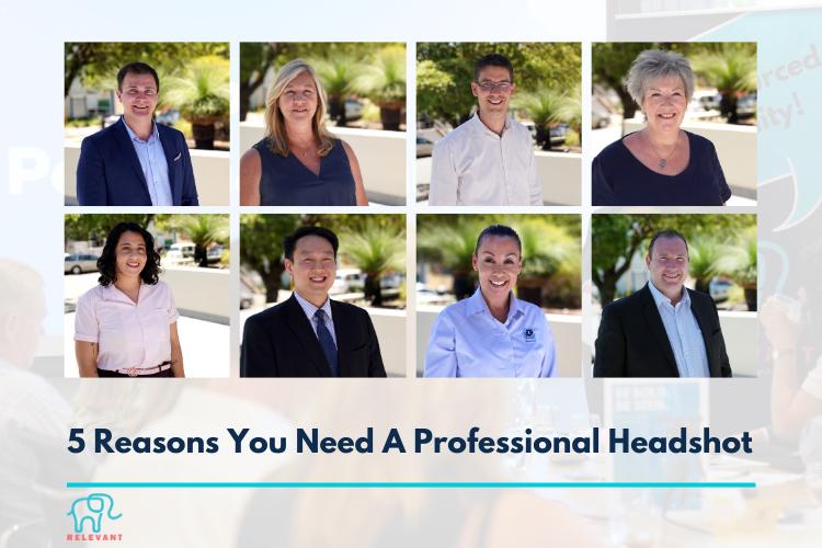 5 Reasons You Need a Professional Headshot