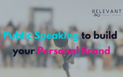 Public Speaking to build your Personal Brand