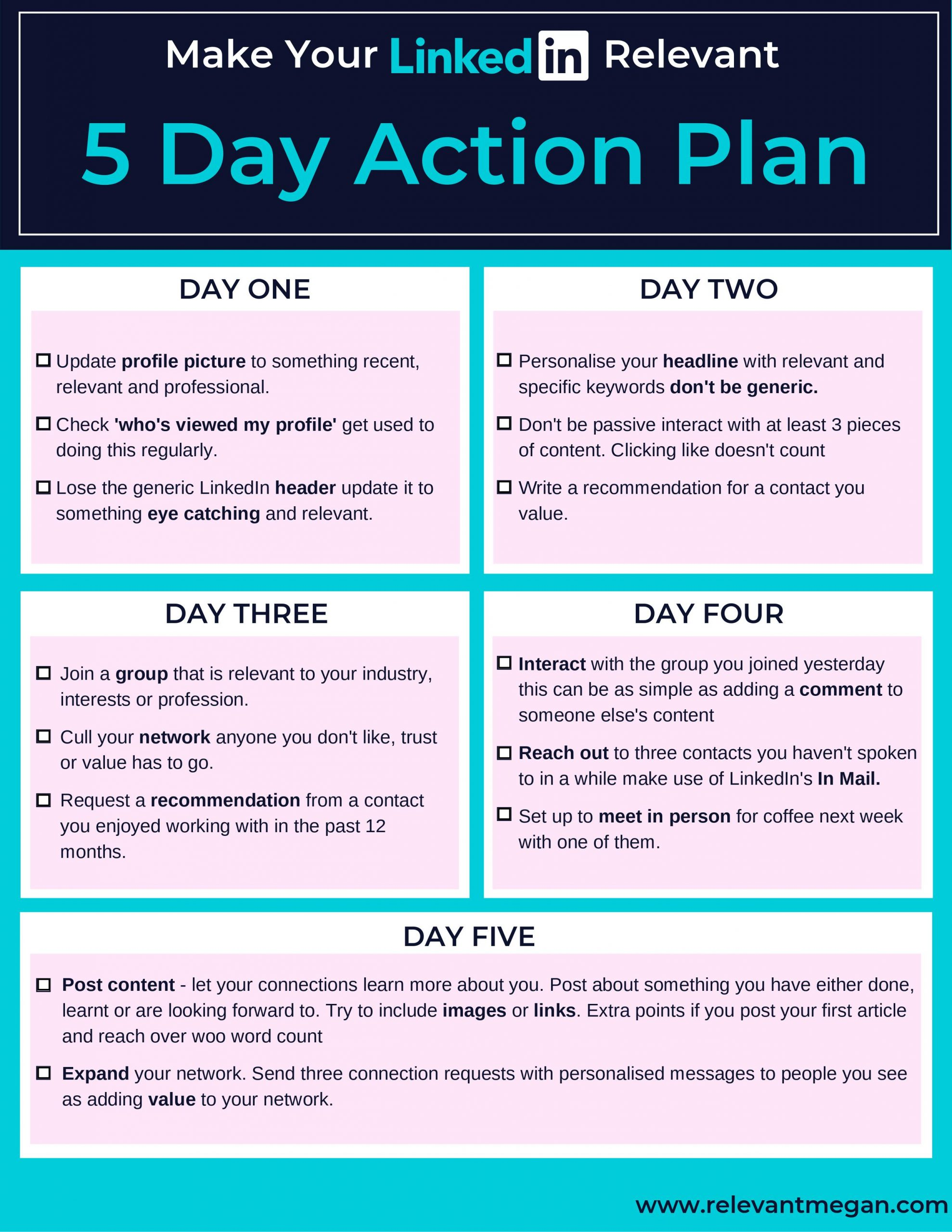 LinkedIn Action Plan